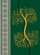 Celtic Tree Notebook (Hardback)